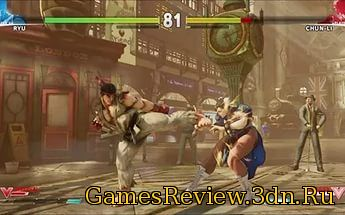 обзор игры Street Fighter 5